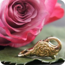 Brass Rose Lock
